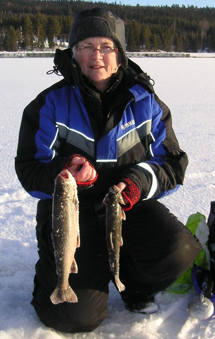Februari 2011 for Ute lake fishing report